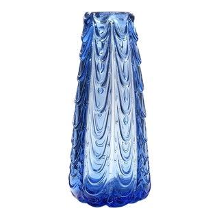Dino Martens Aureliano Toso Studio Murano Italian Art Glass Fenicio Bullicante Vase For Sale