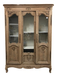 Image of Beige China and Display Cabinets