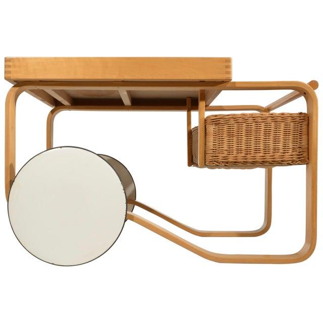 Alvar Aalto for Artek Tea Cart Model 900 For Sale - Image 13 of 13