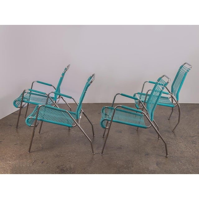 Ames Aire Patio Chairs - Set of 4 For Sale - Image 4 of 9