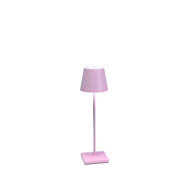 Modern Zafferano Pink Rechargeable Indoor/Outdoor Cordless Table Lamp For Sale - Image 3 of 3