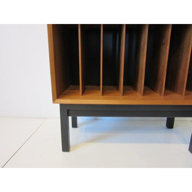 Brown Danish Cado Teak Record Cabinet For Sale - Image 8 of 10