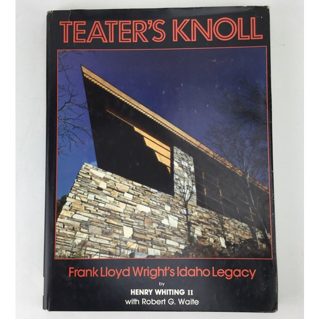 Frank Lloyd Wright Rare Teater's Knoll Book by Henry Whiting For Sale - Image 13 of 13