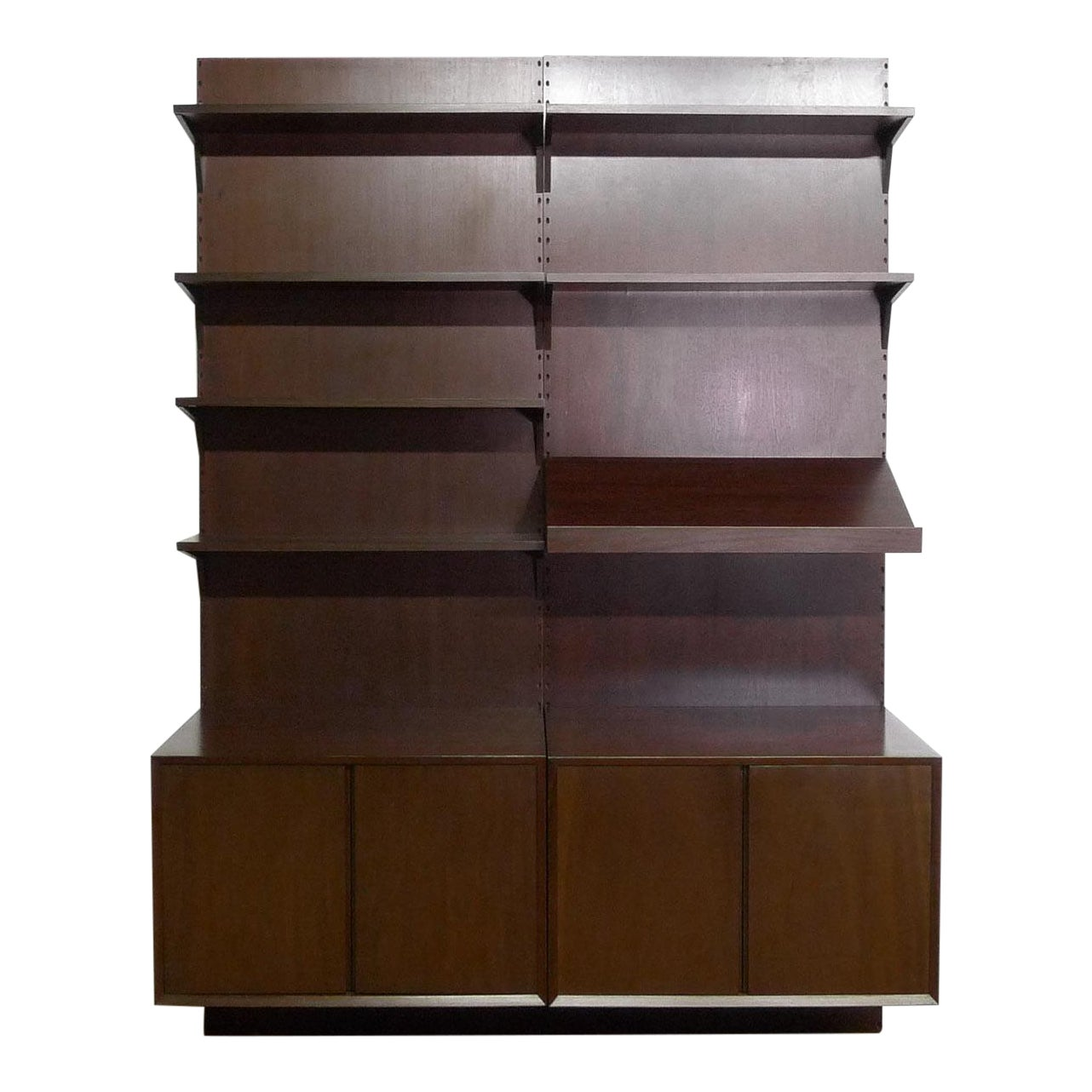 Armoire Comptoir De Famille 1950s, rare early mahogany royal system 'mettmann' vintage danish wall unit poul cadovius for cado kg düsseldorf germany