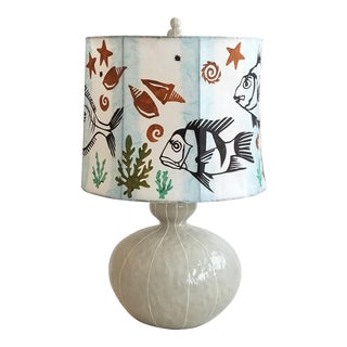 Ocean Fish Table Lamp For Sale