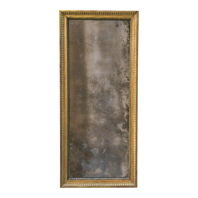 Gold 18th Century Pier Mirror For Sale - Image 8 of 8