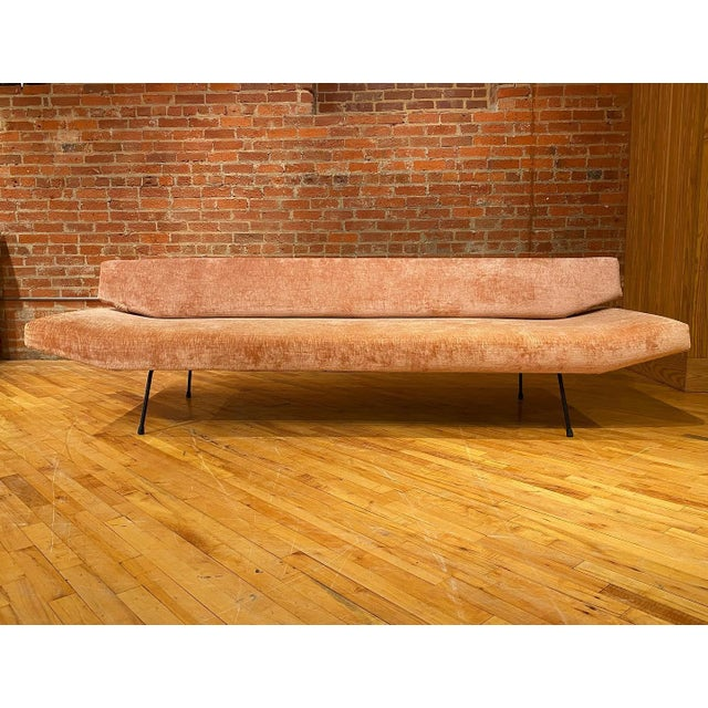1950s Adrian Pearsall Iron Frame Sofa For Sale In Raleigh - Image 6 of 6