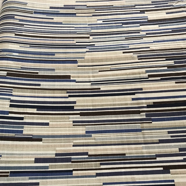 """Contemporary Christopher Farr """"Scaffolding"""" Fabric - 4 Yards For Sale - Image 3 of 6"""
