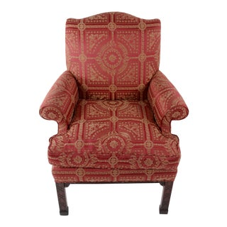 Baker Furniture Chippendale Armchair For Sale
