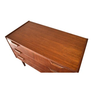 Mid Century Modern Teak Dresser For Sale