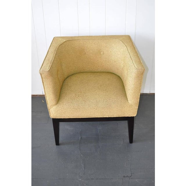 Mid-Century Modern Pair of 1950s Cube Chairs For Sale - Image 3 of 7