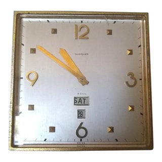Vintage Guardier, 8-Day Clock For Sale
