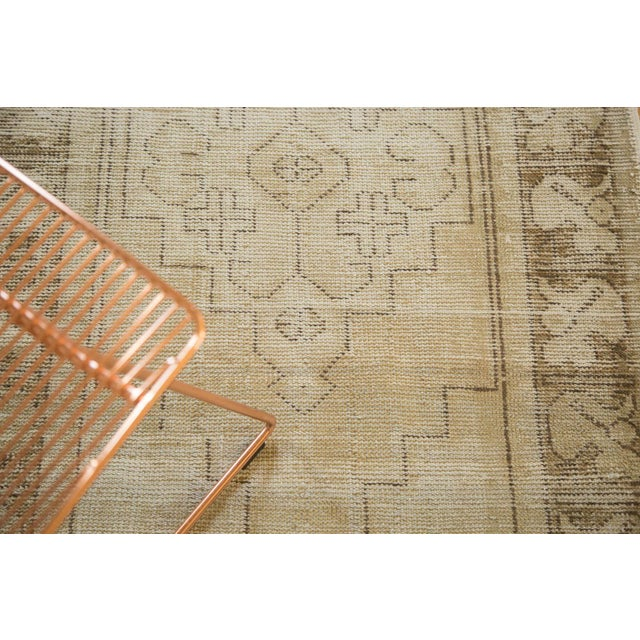 "Vintage Distressed Oushak Rug Runner - 3'1"" x 6'8"" - Image 6 of 9"