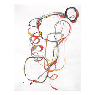 """Tracey Adams """"Balancing Act 3"""", Painting For Sale"""