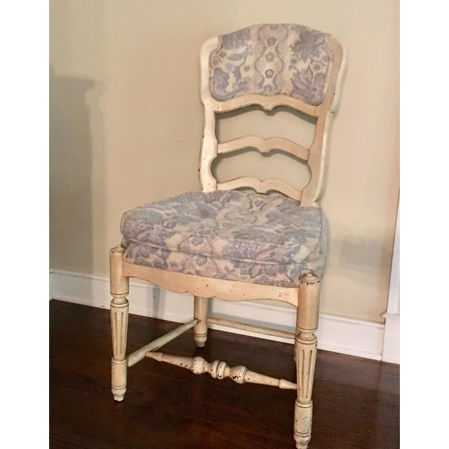 French Provincial Chair >> Antique French Provincial Chair 4 Avail
