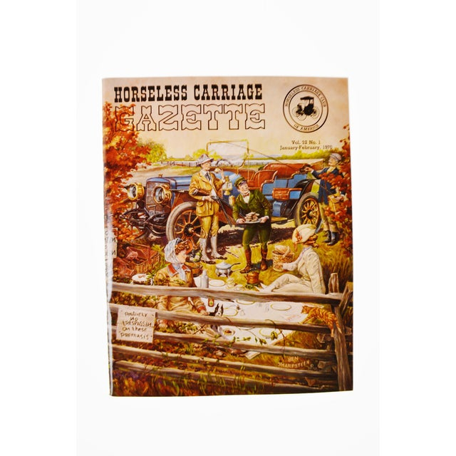 Horseless Carriage Gazette Magazines - 1970 Full Year - Collectible - Image 3 of 10