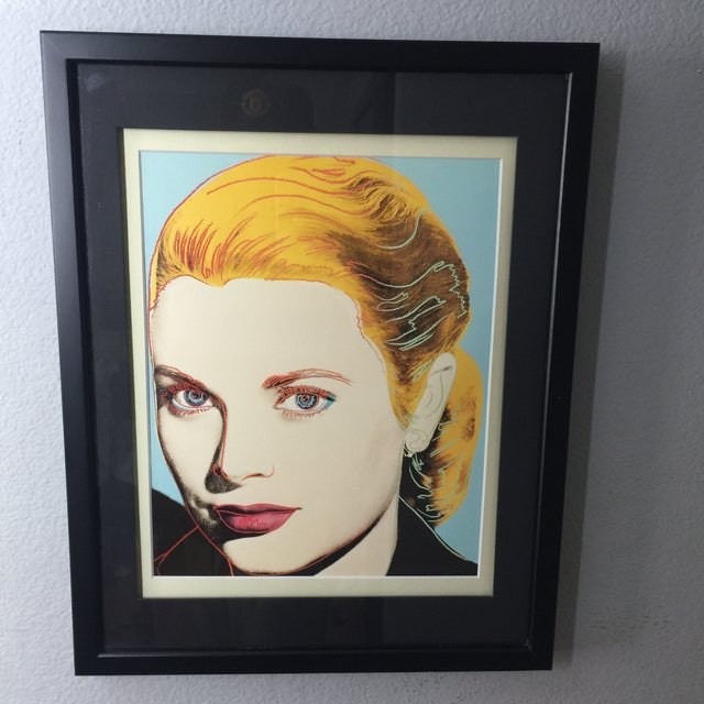 Andy Warhol Grace Kelly 1984 Andy Warhol American Pop Art Print For Sale - Image 4 of 4