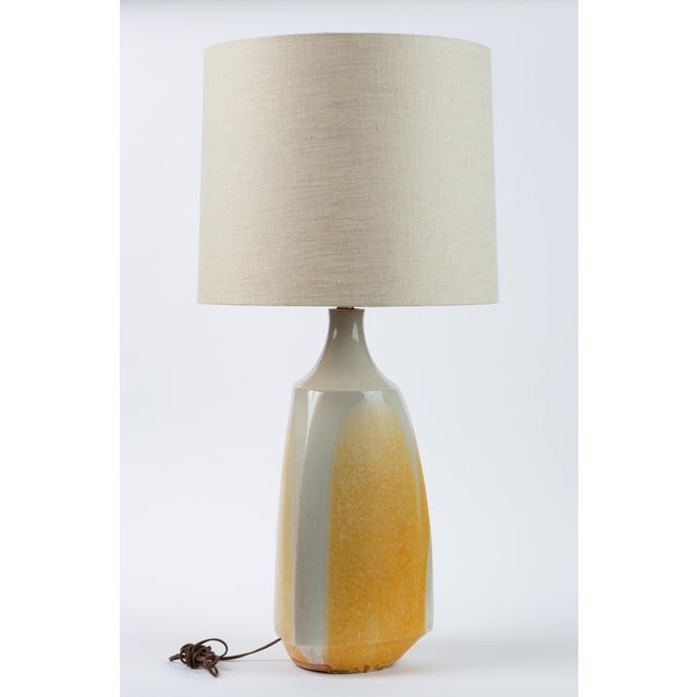 1960s Drip-Glaze Stoneware Lamp by David Cressey for Architectural Pottery For Sale - Image 5 of 9