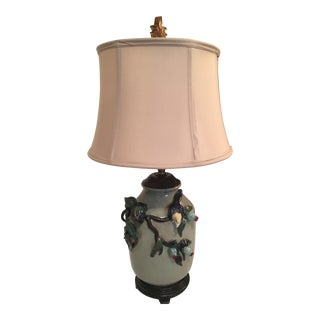 Antique Porcelain Chinese Lamp