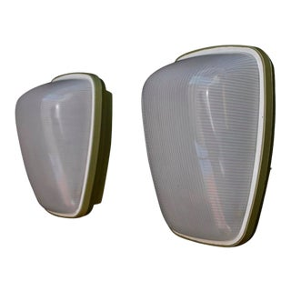 1960s Outdoor Sconces - a Pair For Sale