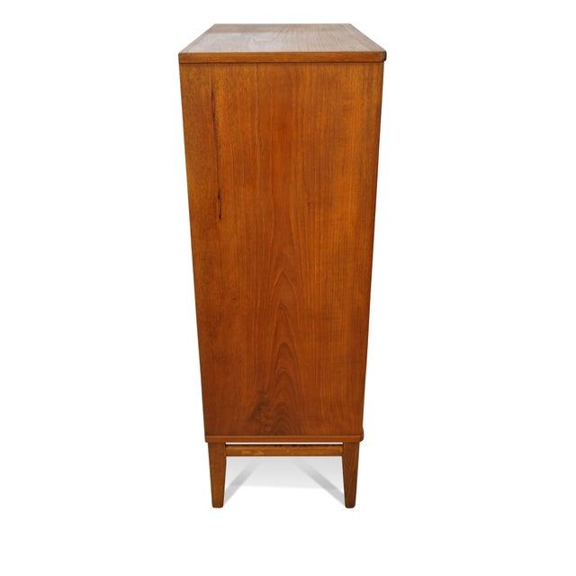 Original Danish Mid Century Modern Teak 7 Drawer Dresser | Chairish