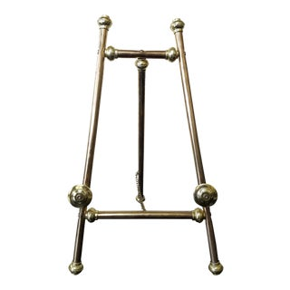 Vintage Brass 2' Ft. Art Easel For Sale