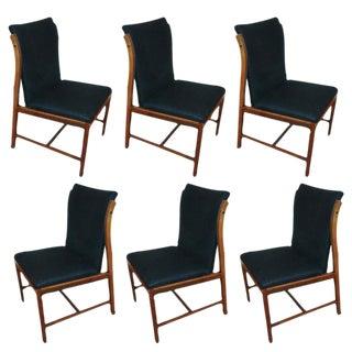 Set of Six John Stuart Dining Chairs For Sale