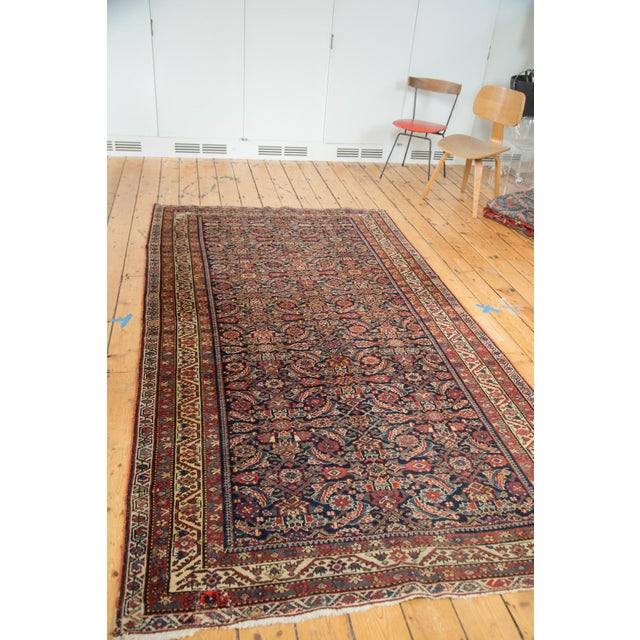 "Antique Malayer Rug Runner - 5'2"" X 9'9"" - Image 5 of 10"