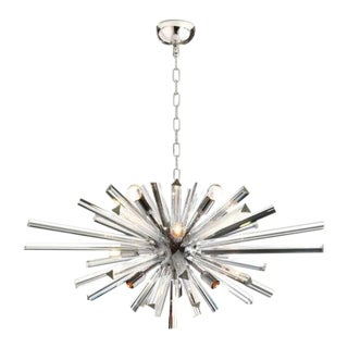 Murano Glass Sputnik Chandelier For Sale
