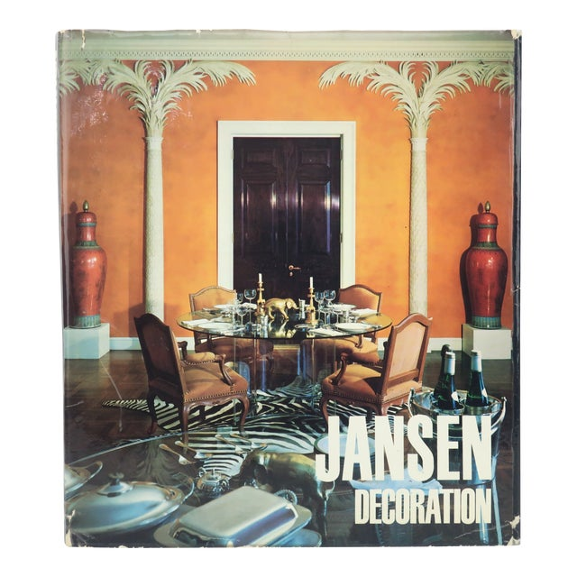 Jansen Decoration French Coffee Table Book, 1971 For Sale