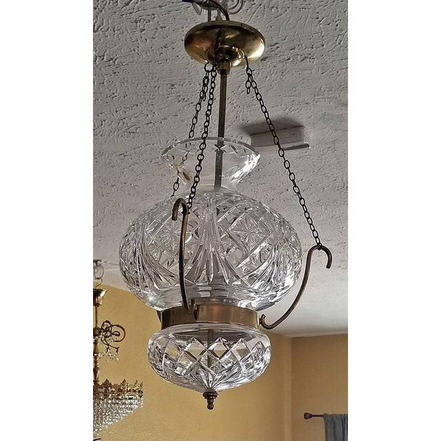 Mid Century Irish Waterford Crystal Traditional Style Chandelier For Sale In Dallas - Image 6 of 6