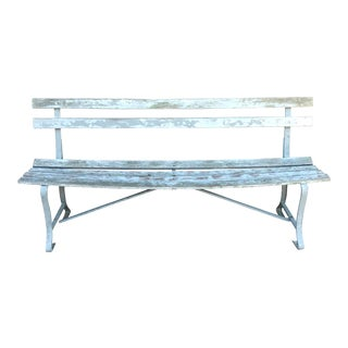 Early 20th Century Garden Bench For Sale