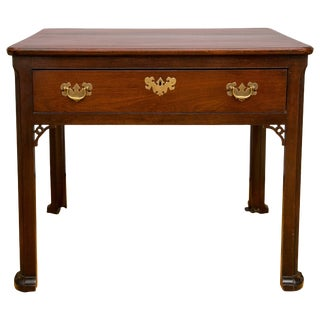 19th Century Georgian Mahogany Architects Table/Writing Desk For Sale