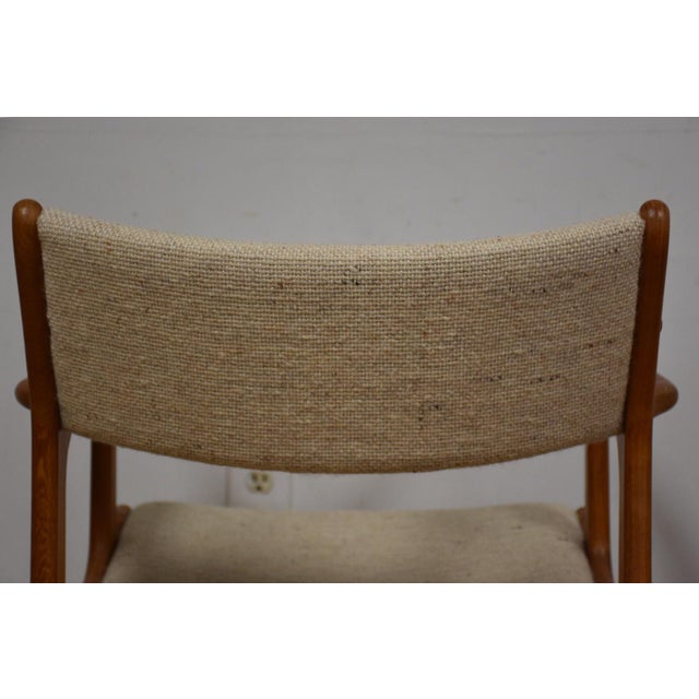 Mid-Century Teak Side Chair - Image 10 of 11