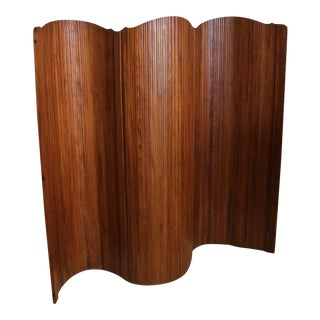 Art Deco French Wood Screen For Sale