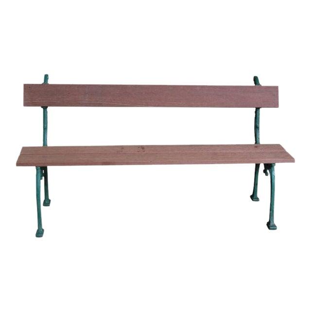 Astonishing French Mahogany Wood Garden Bench Uwap Interior Chair Design Uwaporg