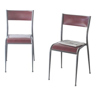 Vintage Mullca 510 Schoolhouse Chairs - A Pair