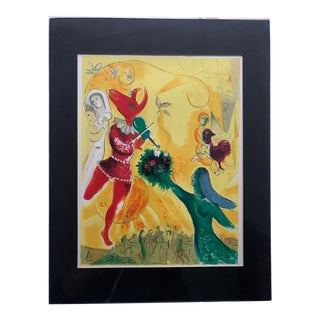 Authentic Chagall Lithograph For Sale