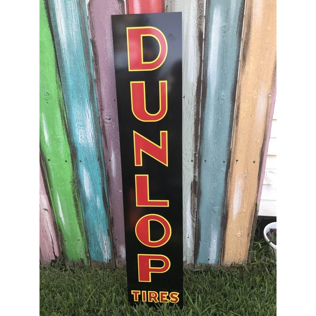"Vintage Style ""Dunlop Tires"" Sign - Image 4 of 4"