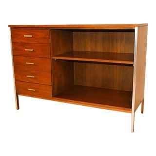 Mid Century Paul McCobb Calvin Group Dresser Media Center Bar Cabinet For Sale