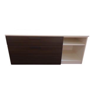 "Modern Herman Miller 52"" 2-Drawer Low Metal Credenza"