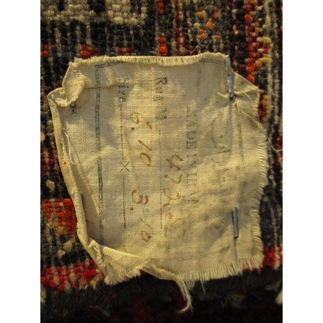 Vintage Red Floral Wool Persian Rug - 3′1″ × 6′1″ - Image 11 of 11