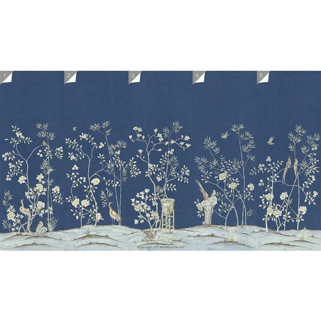 """Not Yet Made - Made To Order Casa Cosima Royal Brighton Wallpaper Mural - 2 Panels 72"""" W X 96"""" H For Sale - Image 5 of 6"""
