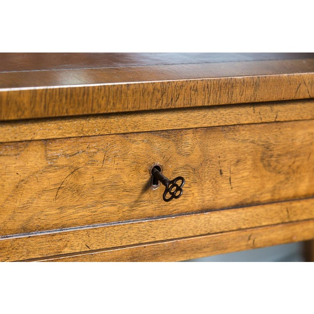 Vintage French Style Brass Gallery Writing Desk by Milling Road for Baker For Sale - Image 9 of 13