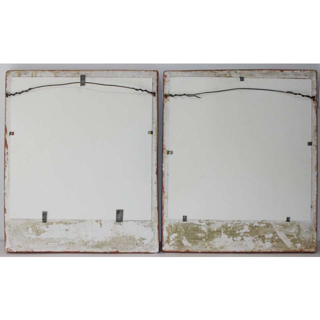 Art Deco 1920s Wall Plaques - a Set of 2 For Sale - Image 11 of 13