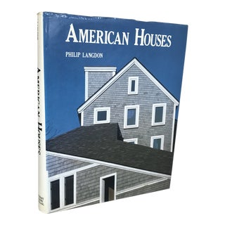 """1987 """"American Houses"""" Art/Architecture Book For Sale"""