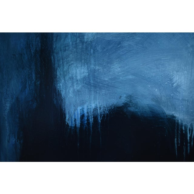 """Stephen Remick Modern """"The Abbey in Moonlight"""" Painting by Stephen Remick For Sale - Image 4 of 10"""