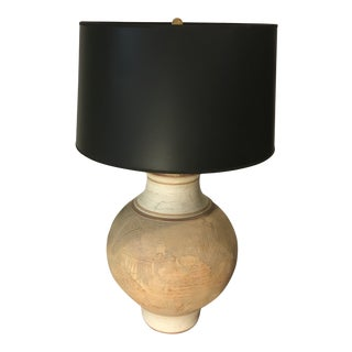 1980s Casual Lamps Ceramic Lamp For Sale