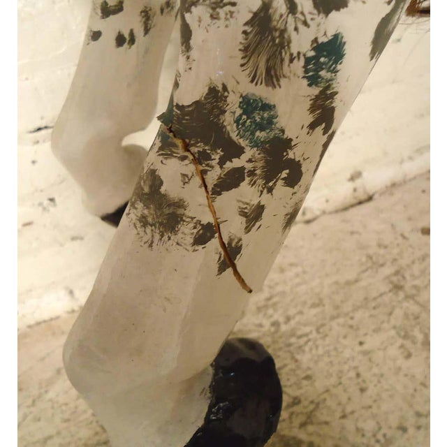 Vintage Antique Hand-Painted Wooden Horse For Sale In New York - Image 6 of 10
