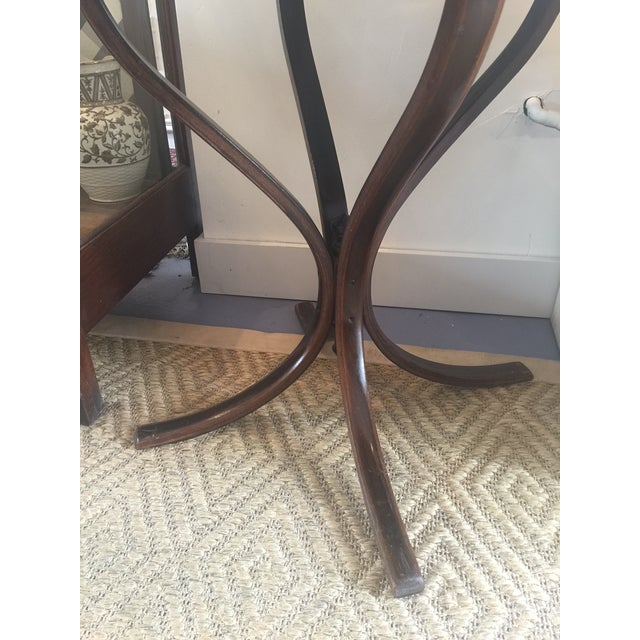 Vintage Bentwood Cane Top Table For Sale - Image 4 of 6